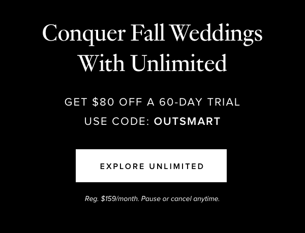 Conquer Fall Weddings with Unlimited