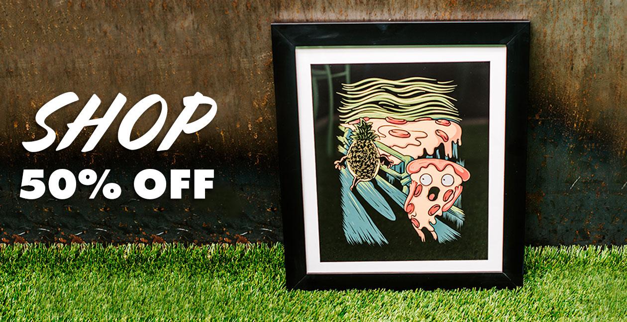 Shop 50% off