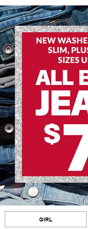 $7.99 All Basic Jeans Girl