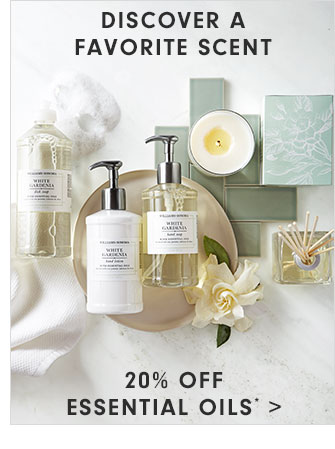 DISCOVER A SCENT - 20% OFF ESSENTIAL OILS*