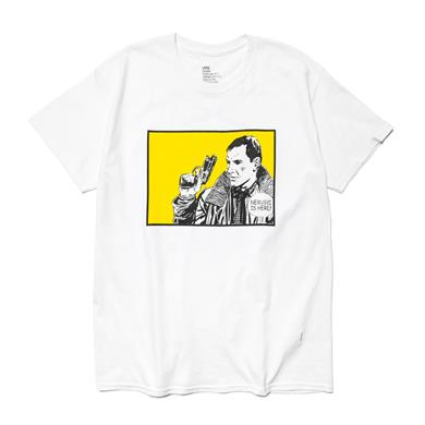 NEXUSVII  'NXVII. IS HERE' T-Shirt White/Bright Yellow