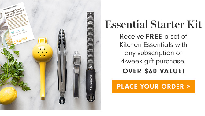 Essential Starter Kit - PLACE YOUR ORDER