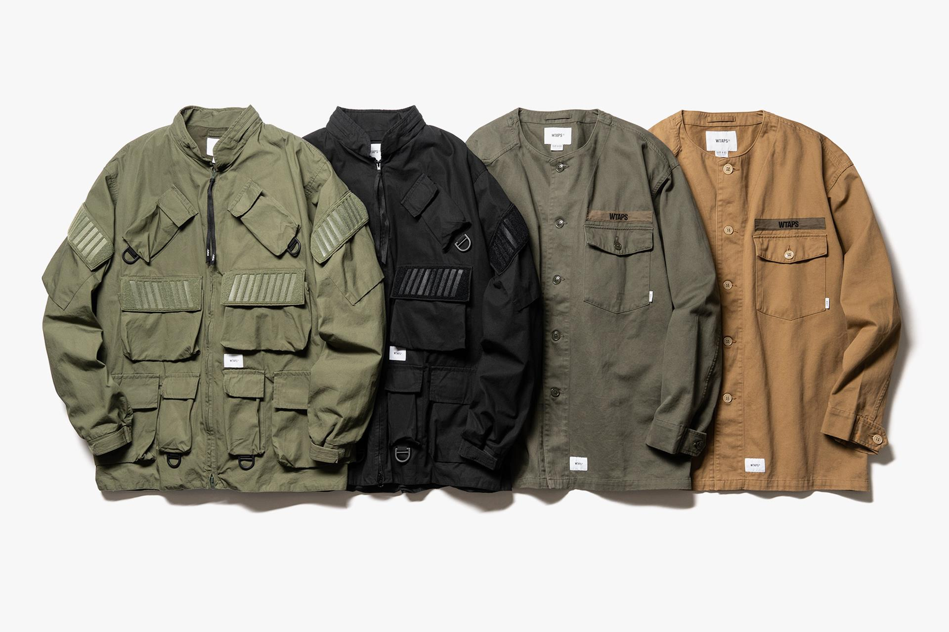 WTAPS FW19 First Delivery | Release Date: 10.17.19