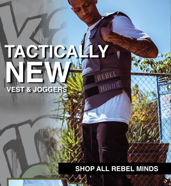 New Vest And Joggers From Rebel Minds