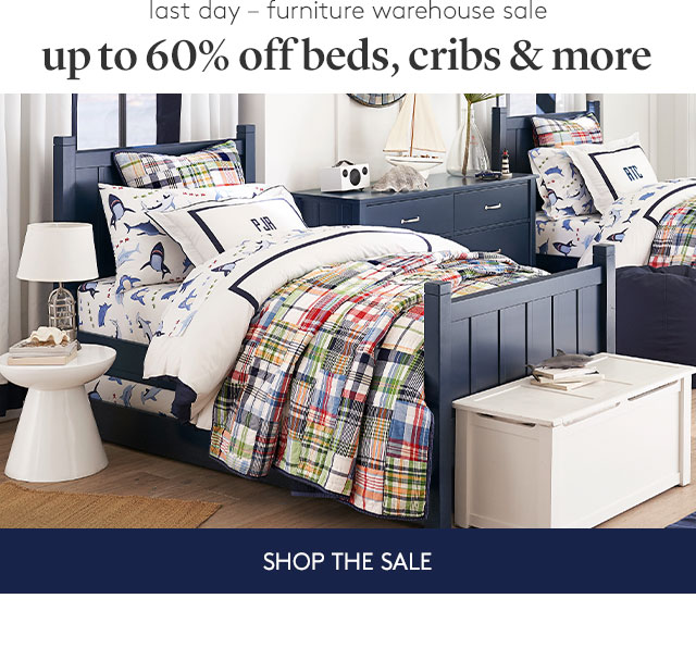 UP TO 60% OFF BEDS, CRIBS, AND MORE