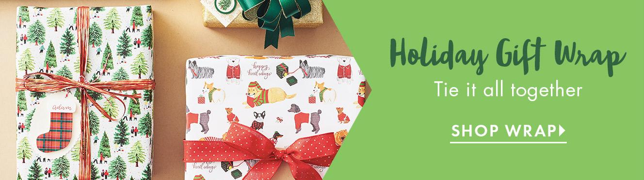 Holiday Wrap Shop