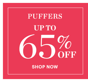 Puffers, Up to 65% Off
