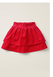 Smocked Woven Skirt