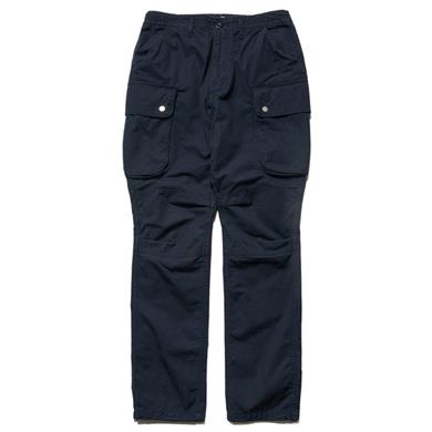 nonnative  Commander 6P Trousers Relaxed Fit Cotton Ripstop Navy