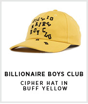 BBC Cipher Hat In Buff Yellow