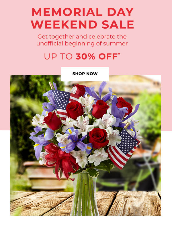 Memorial Day Weekend Sale – Up To 30% Off