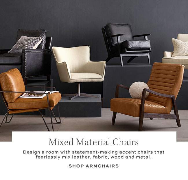 Mixed Material Chairs