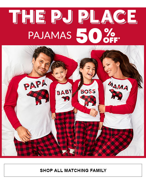 50% Off Matching Family Pajamas
