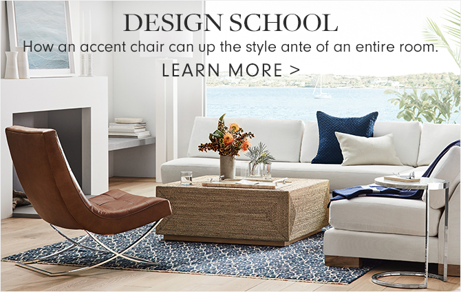 design school - HOW AN ACCENT CHAIR CAN UP THE STYLE ANTE OF AN ENTIRE ROOM - LEARN MORE