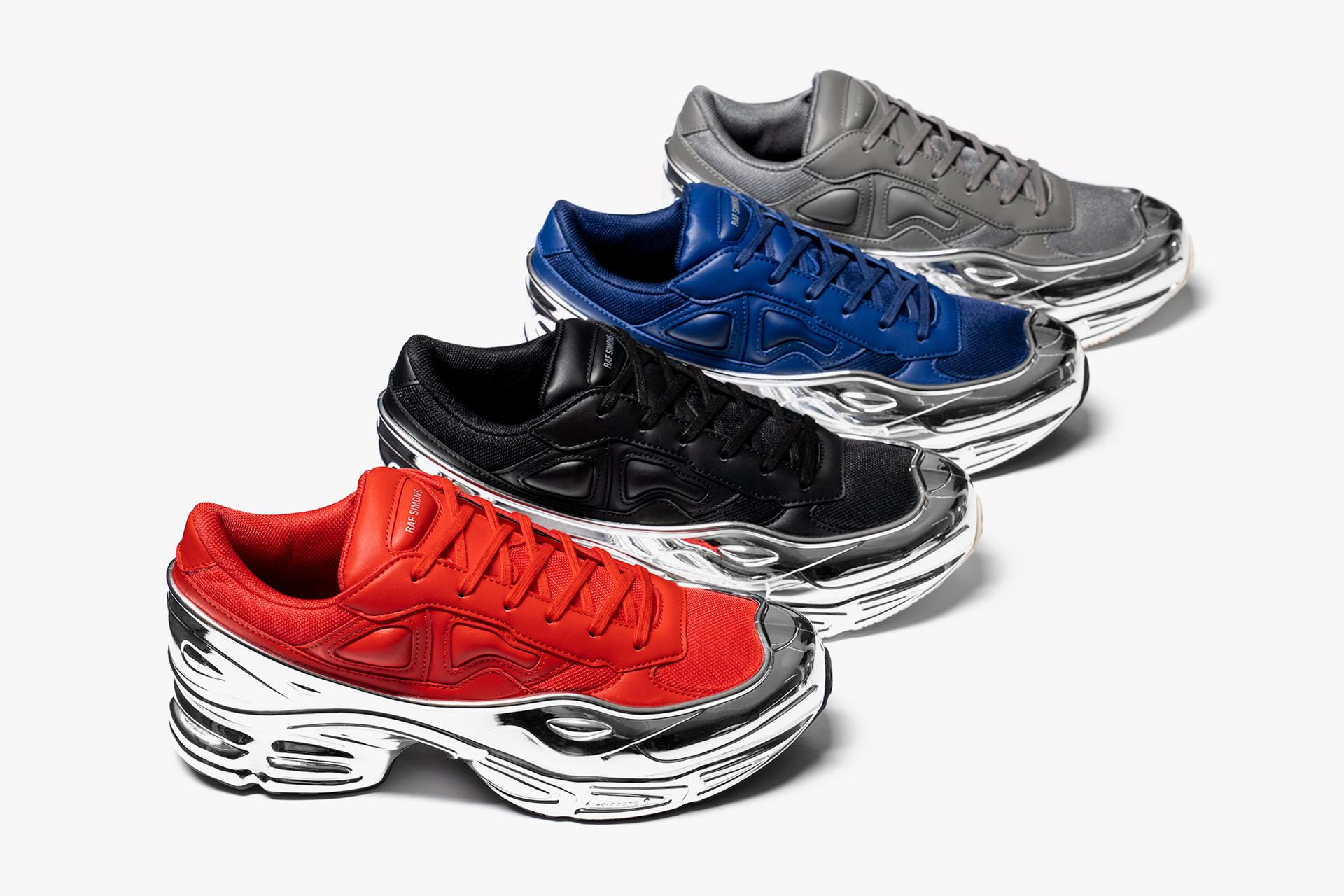 adidas x Raf Simons Ozweego Chrome Pack   Release Date: 05.23.19