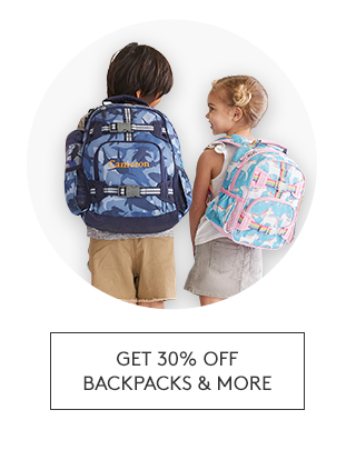 GET 30% OFF BACKPACKS AND MORE
