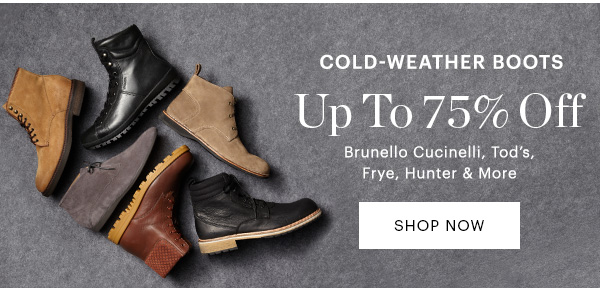 Boots, Up to 75% Off