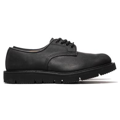 Comme des Garcons HOMME  x Tricker's Waxed Commander Tramping Shoes Black