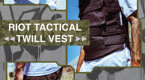 Riot Tactical Twill Vest