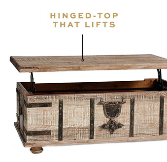 HINGED-TOP THAT LIFTS
