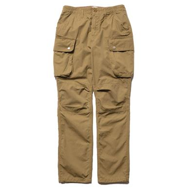 nonnative  Commander 6P Trousers Relaxed Fit Cotton Ripstop Beige