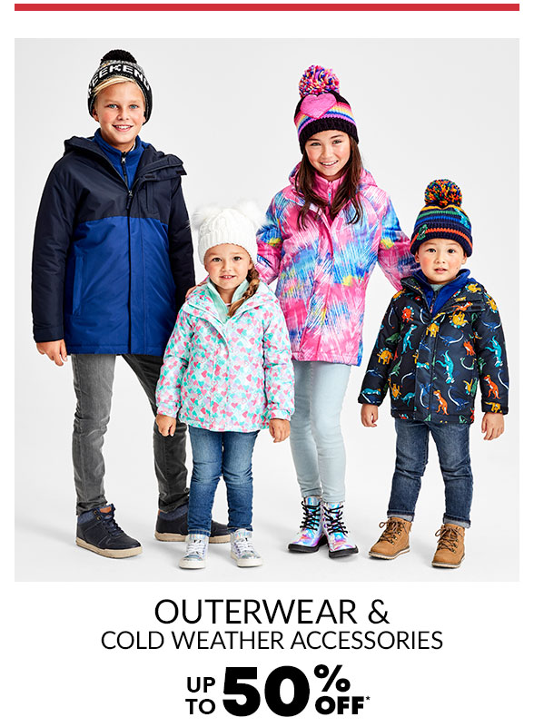 40-50% Off All Outerwear & Cold Weather Accessories + $19.99 Puffer Jacket