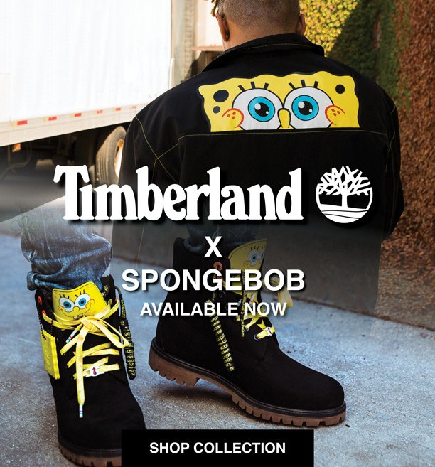 Timberland X Spongebob Available Now