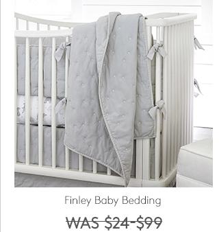 FINLEY BABY BEDDING