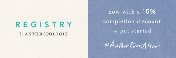 Anthropologie Registry.