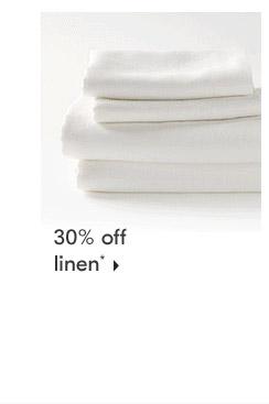 30% off linen
