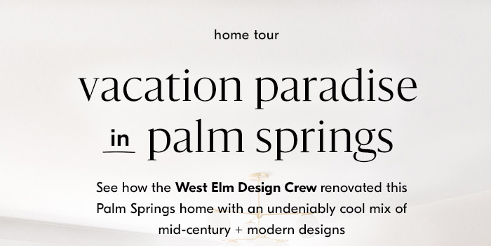 vacation paradise in palm springs