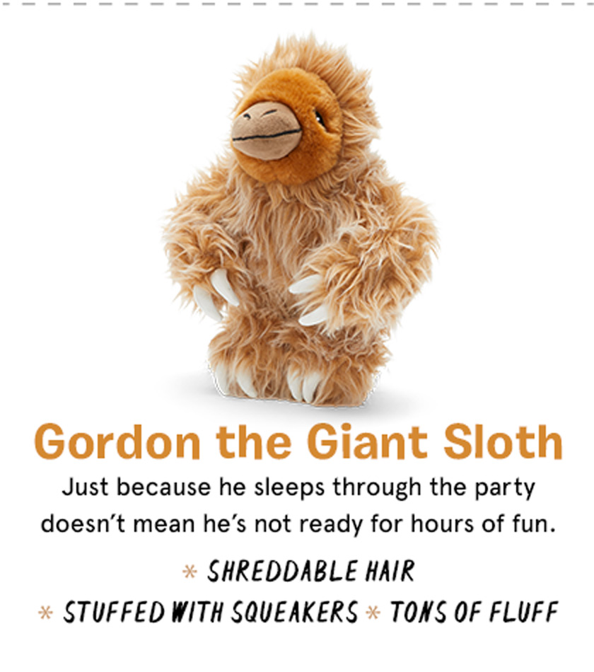 Gordon the Giant Sloth