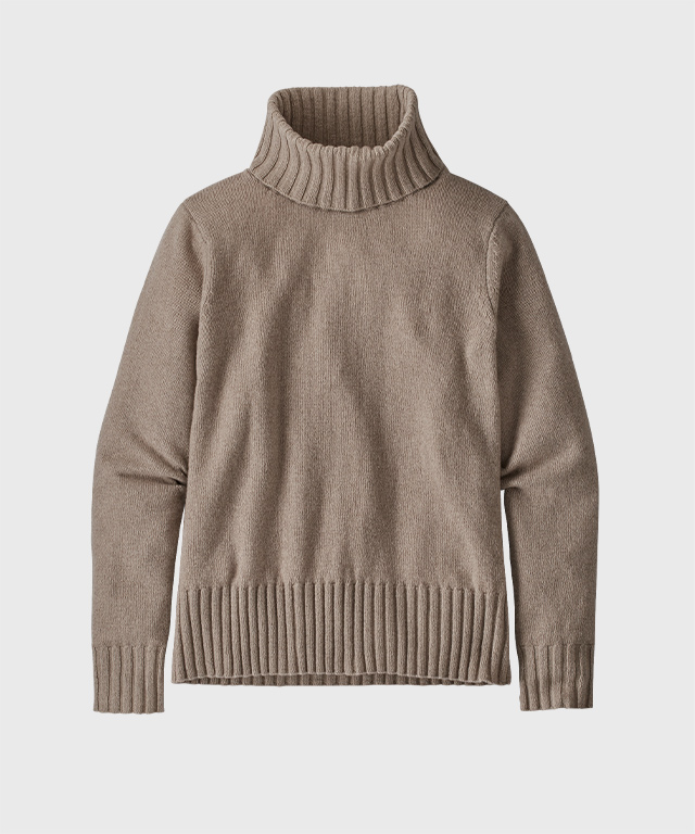 Women's Recycled Cashmere Turtleneck