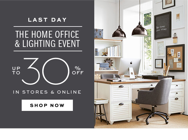 THE HOME OFFICE & LIGHTING EVENT