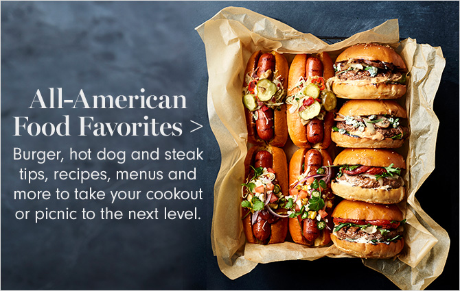 All-American Food Favorites