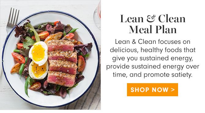 Lean & Clean Meal Plan - SHOP NOW