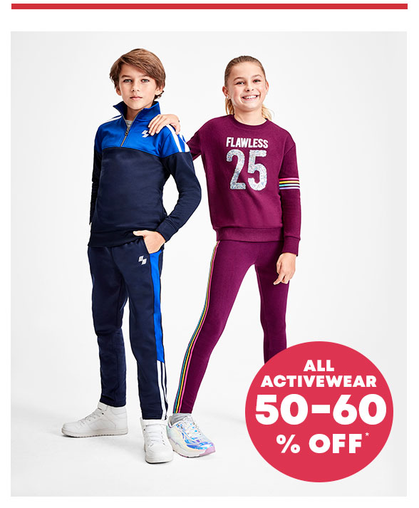 60% Off Activewear